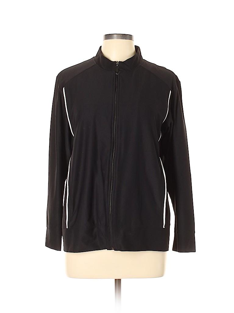 Chico's Design Women Track Jacket Size Lg (2)