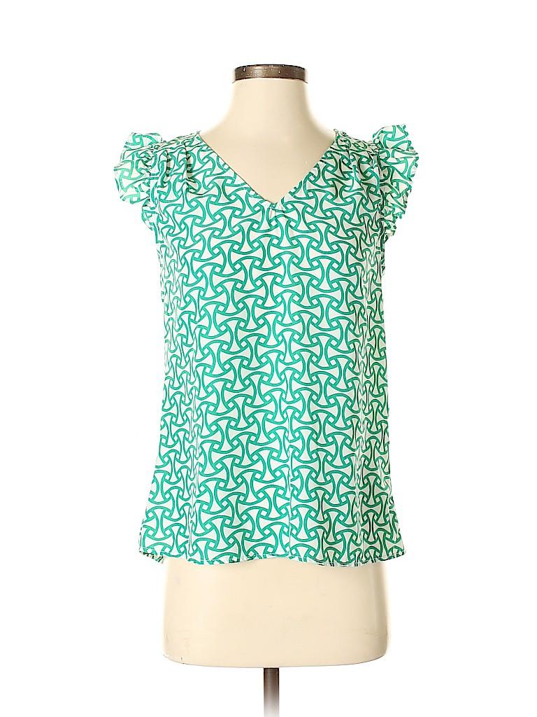 Annabella Women Short Sleeve Blouse Size S