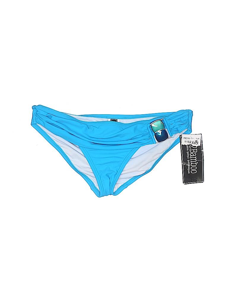 2Bamboo Women Swimsuit Bottoms Size S