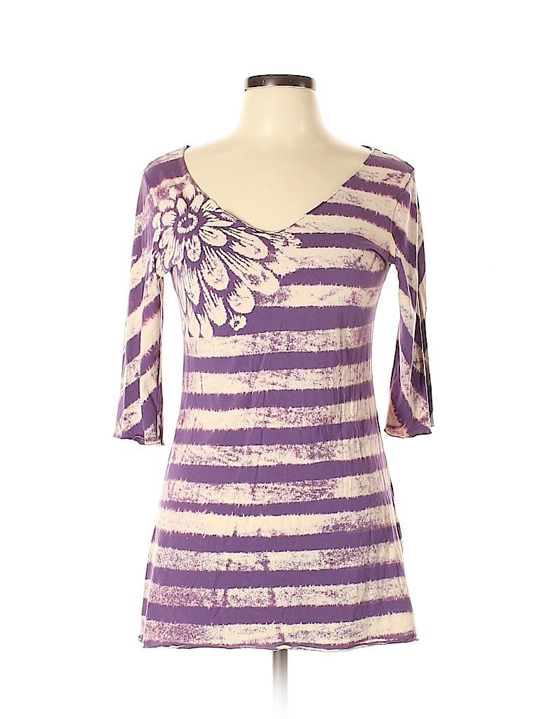 Lucky Women 3/4 Sleeve T-Shirt Size L