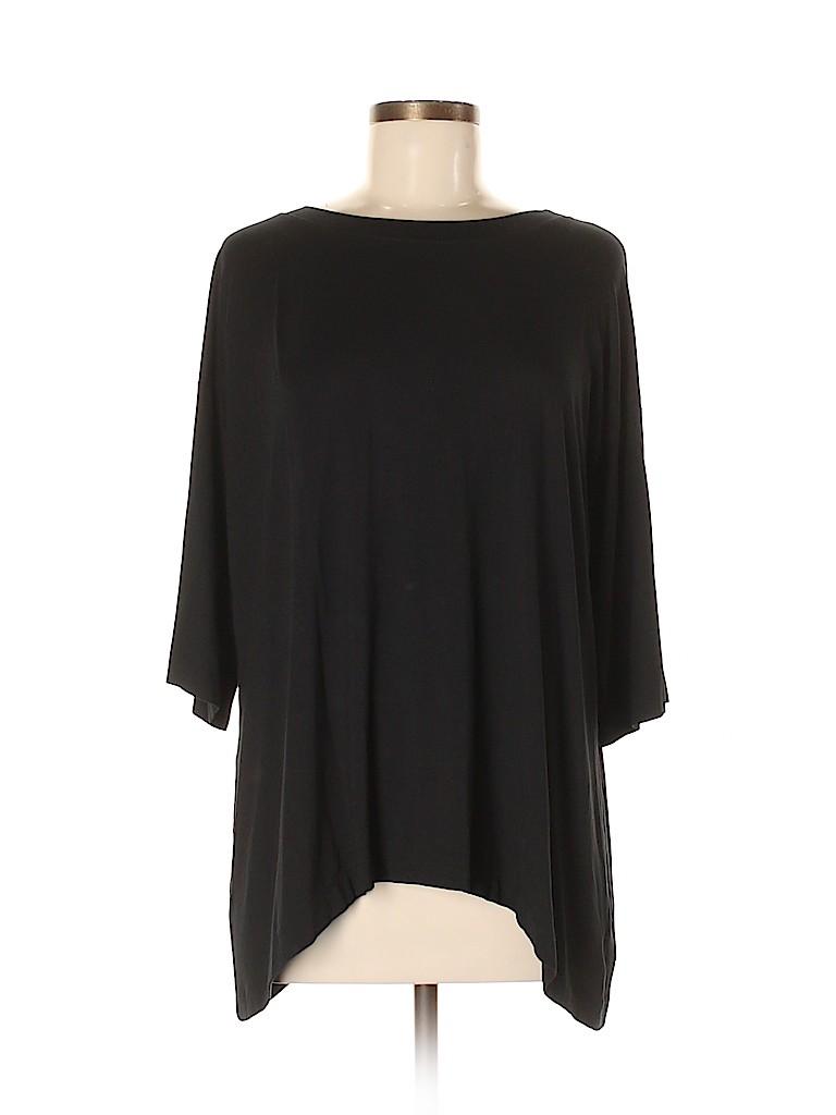 Nally & Millie Women 3/4 Sleeve Top Size Sm - Med