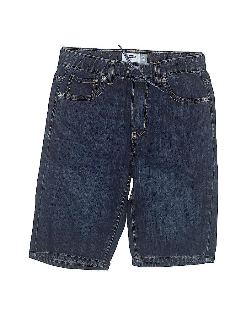 Old Navy Boys Denim Shorts Size L (Youth)