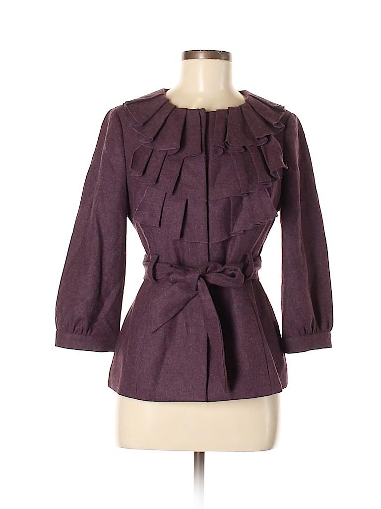 Tabitha Women Wool Coat Size 6