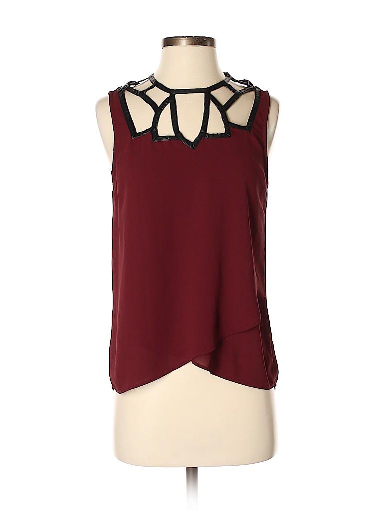 Greylin Women Sleeveless Blouse Size S
