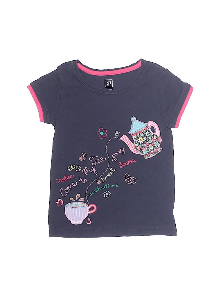 Baby Gap Girls Short Sleeve T-Shirt Size 3