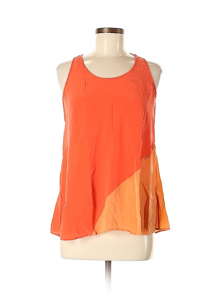 Joe Fresh Women Sleeveless Silk Top Size M