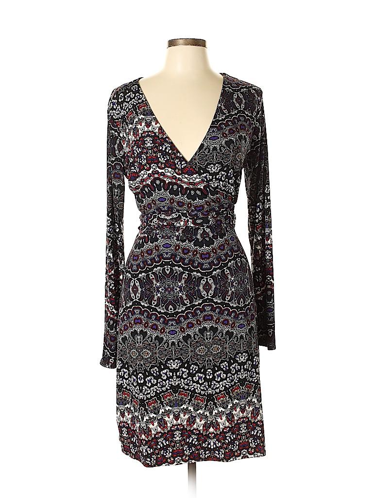 Nicole by Nicole Miller Women Casual Dress Size L
