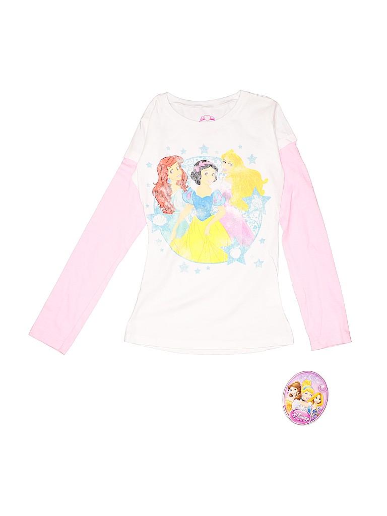 Disney Girls Long Sleeve T-Shirt Size M (Kids)