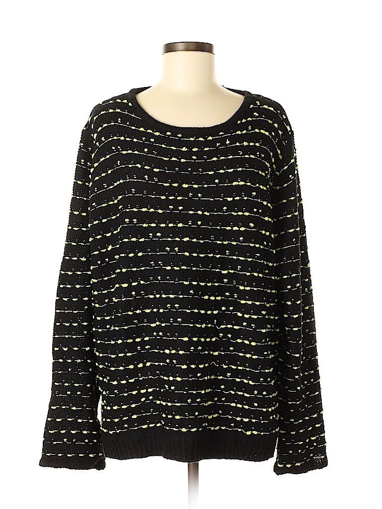 City Chic Women Pullover Sweater Size L (Plus)