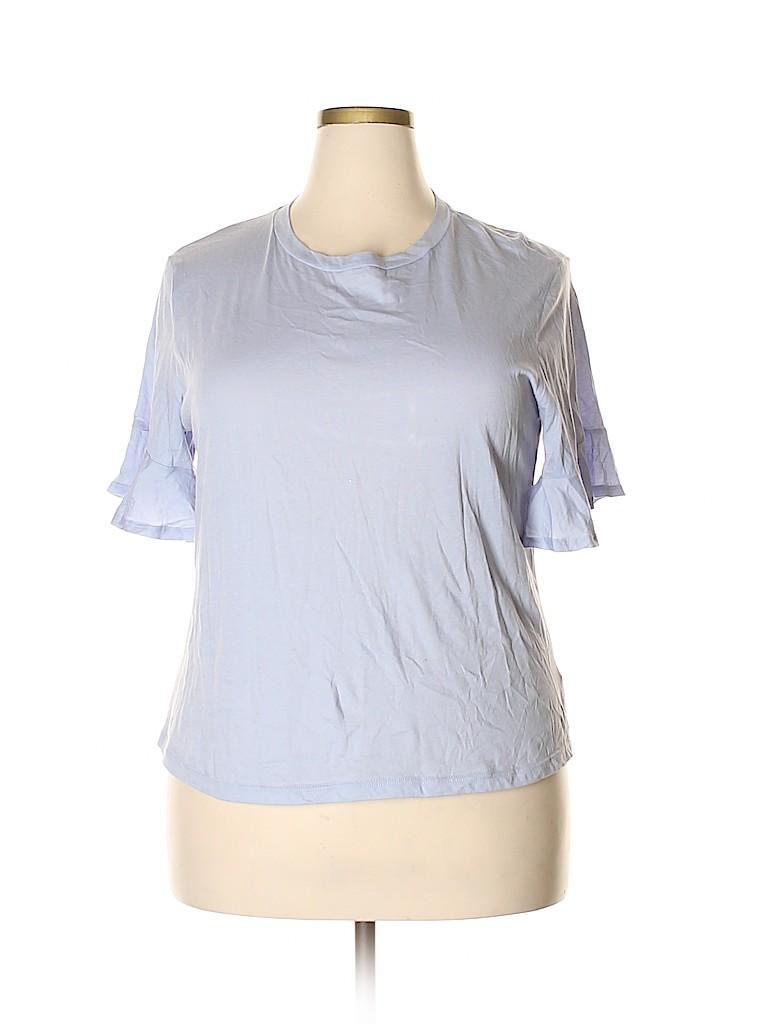 Lush Women Short Sleeve Top Size XXL