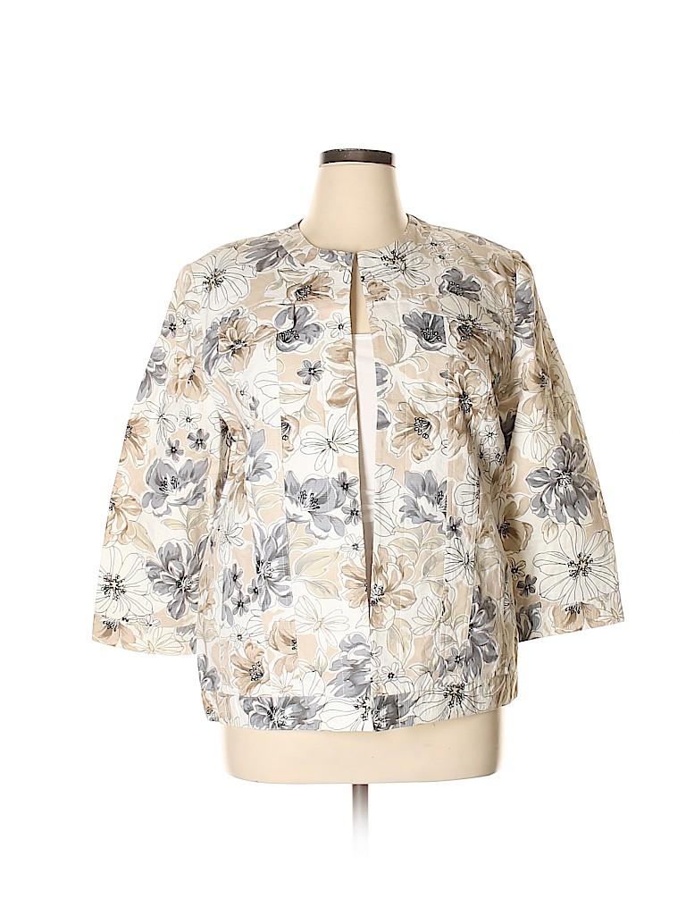 Alfred Dunner Women Jacket Size 16