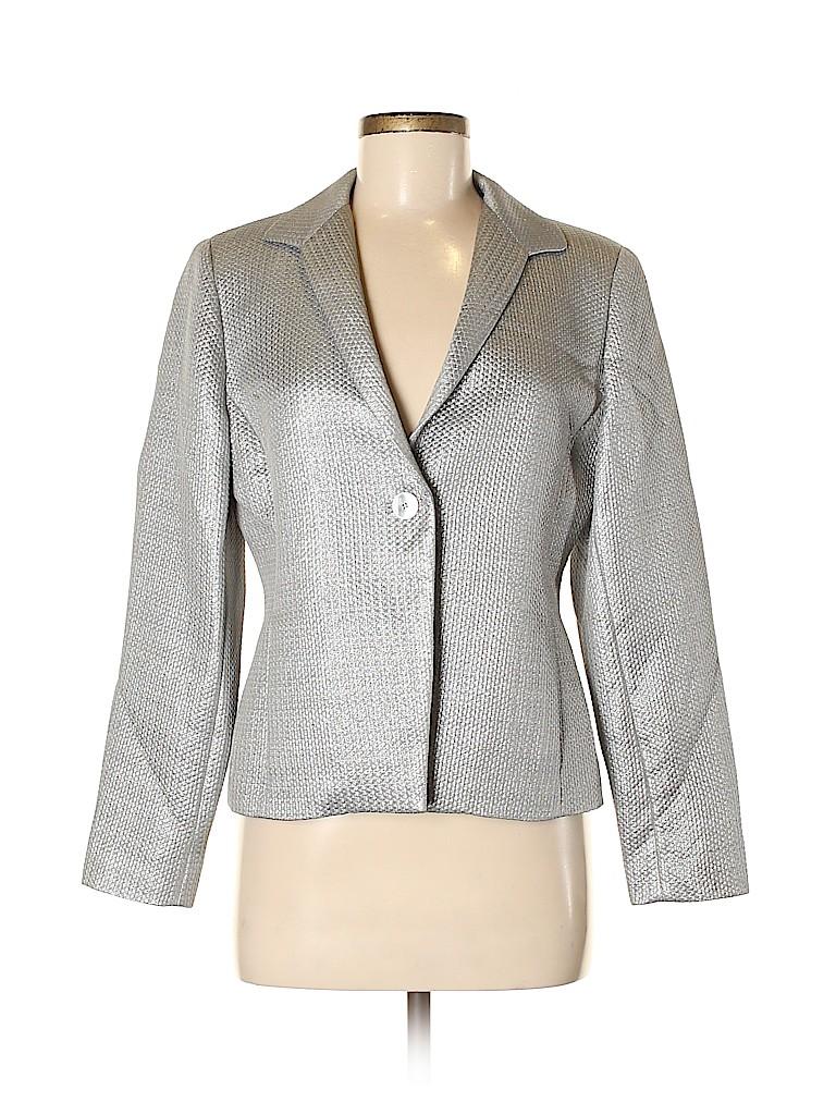 Jones New York Collection Women Blazer Size 8 (Petite)