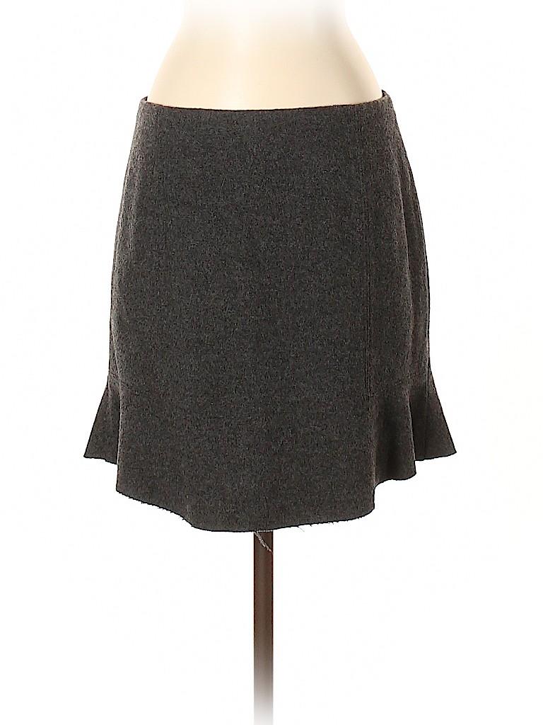 Madewell Women Wool Skirt Size 4