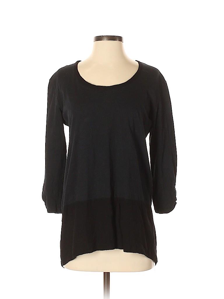 Fresh Produce Women 3/4 Sleeve T-Shirt Size S