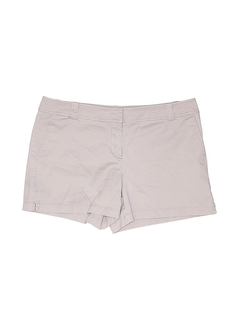 New York & Company Women Khaki Shorts Size 12