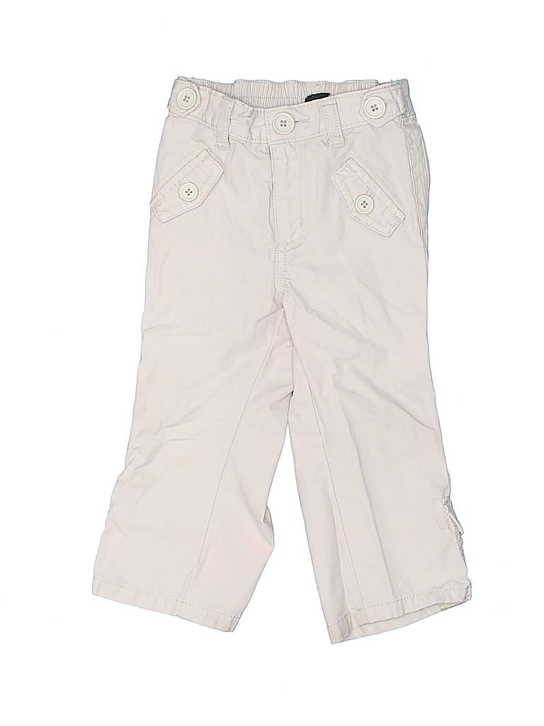 6f23408caa92 Baby Gap 100% Cotton Tan Cargo Pants Size 18-24 mo - 63% off
