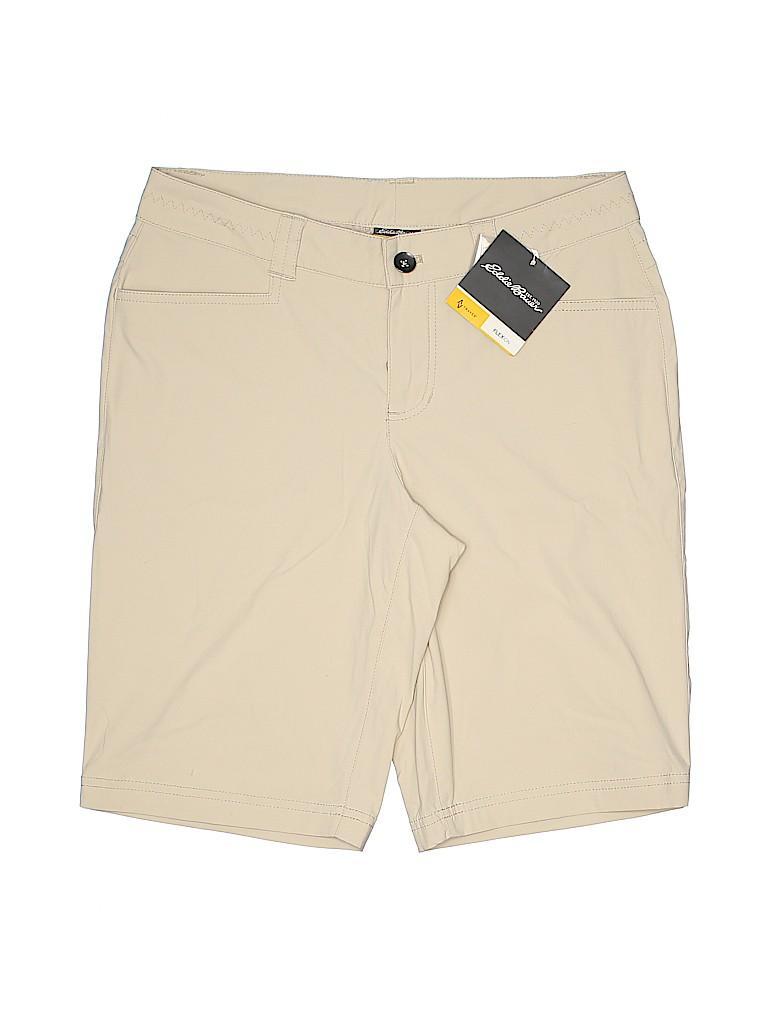 Eddie Bauer Women Khaki Shorts Size 2