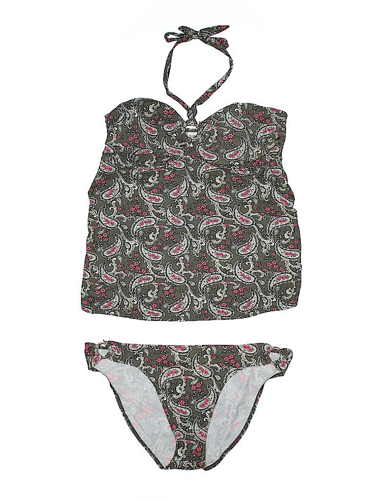 Motherhood Women Two Piece Swimsuit Size XL (Maternity)