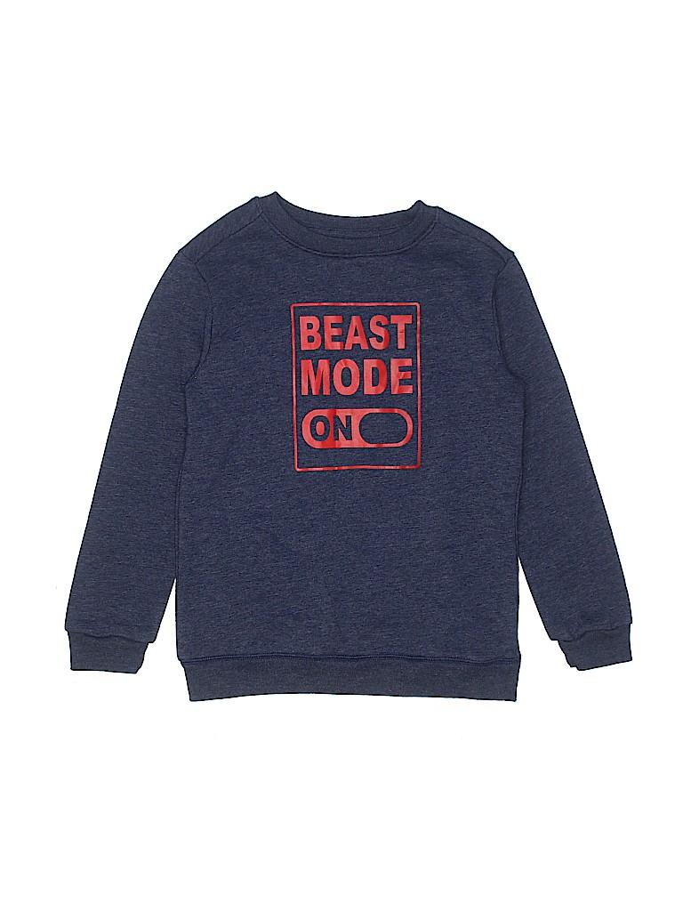 Cat & Jack Boys Sweatshirt Size 6 - 7