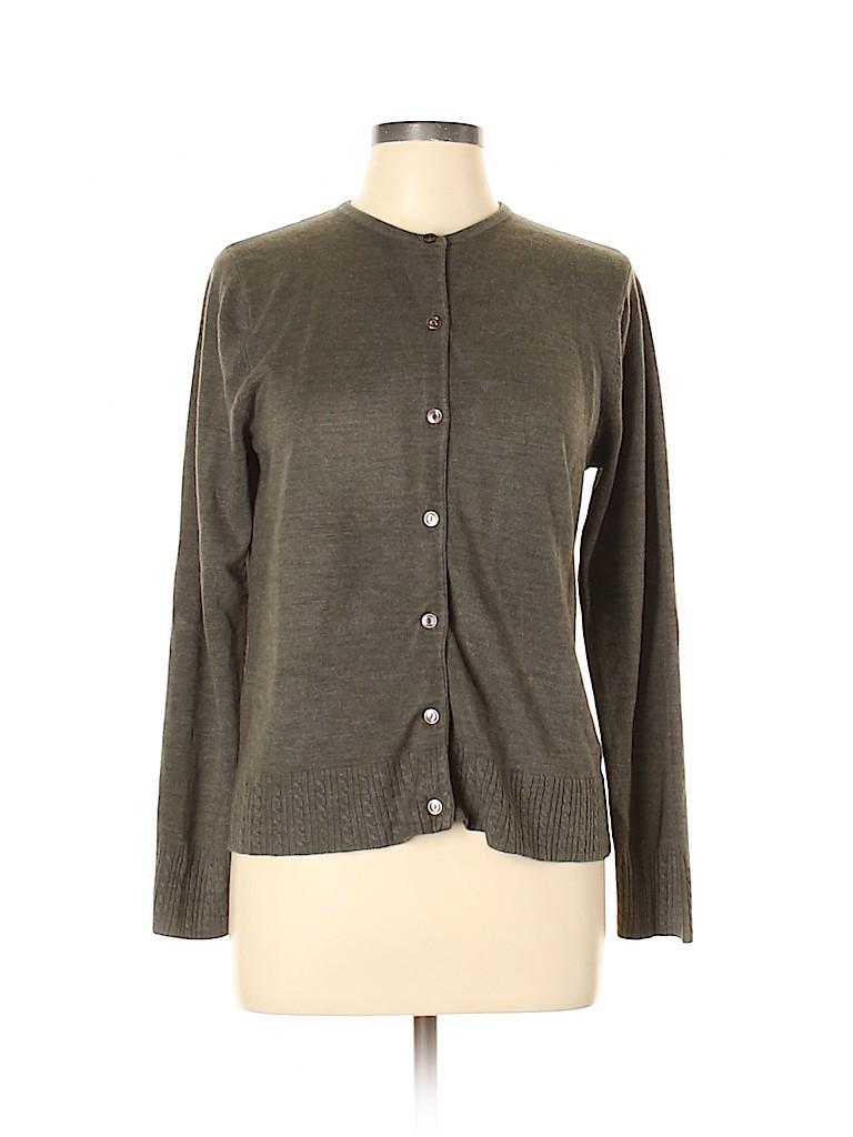 Sag Harbor Women Cardigan Size L (Petite)