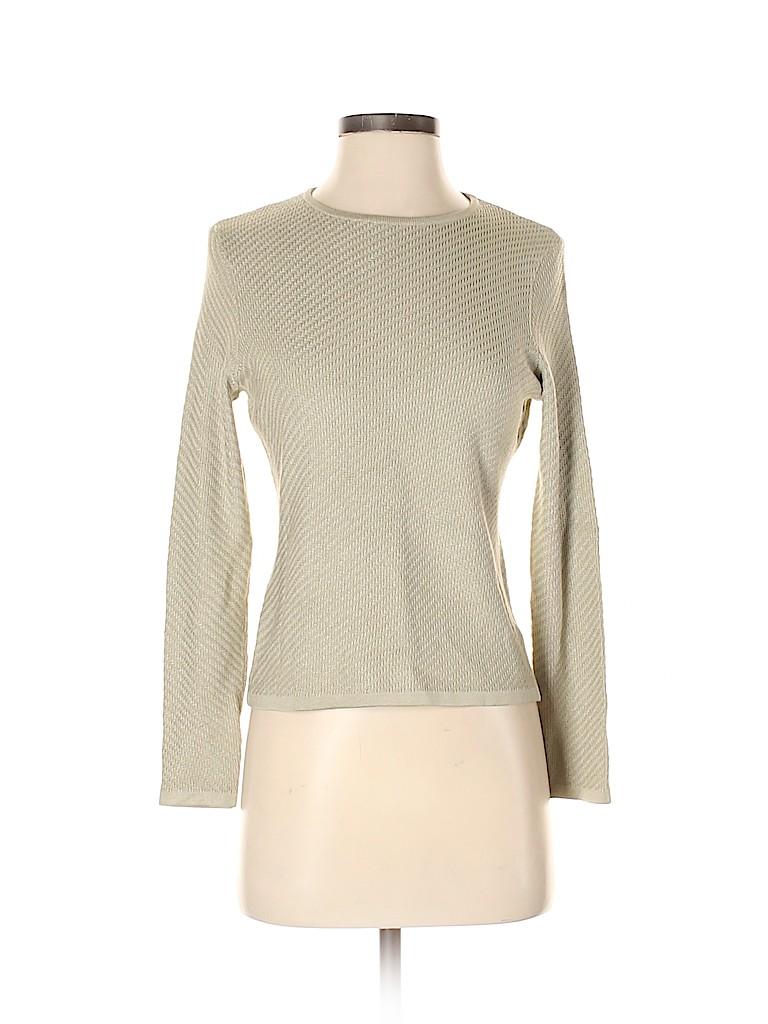 Carlisle Women Silk Pullover Sweater Size S