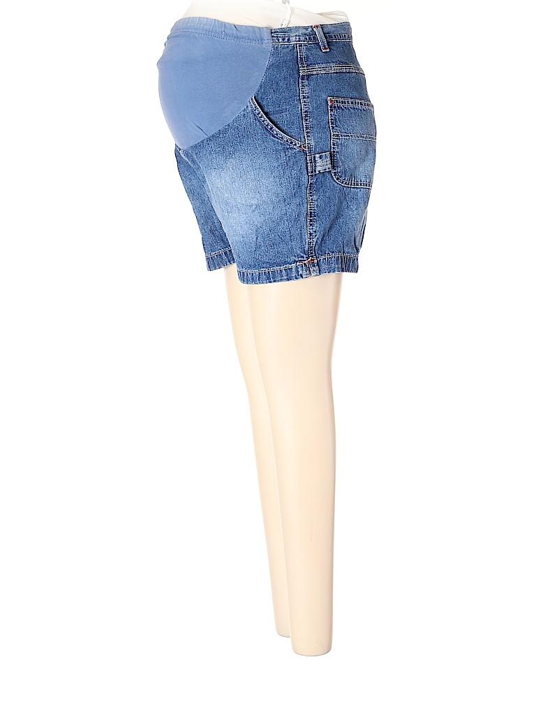 Motherhood Women Denim Shorts Size S (Maternity)