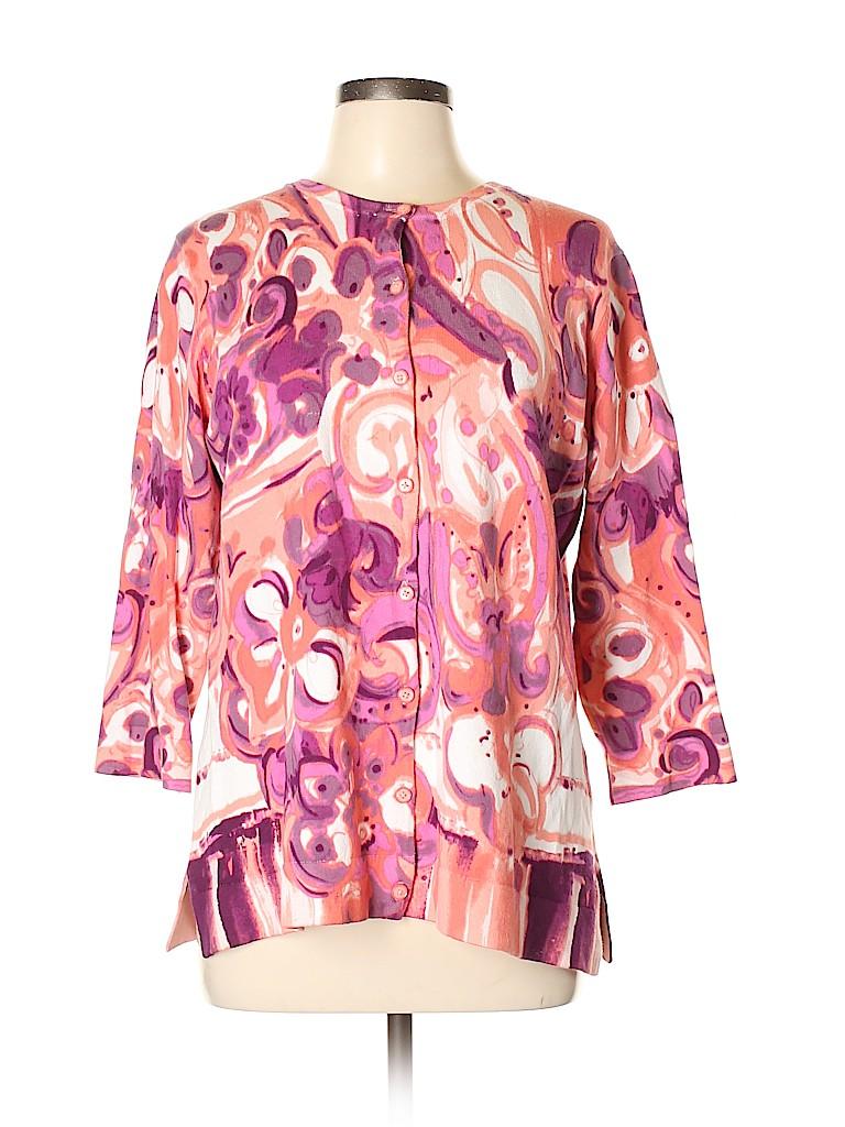 Isaac Mizrahi LIVE! Women Cardigan Size L