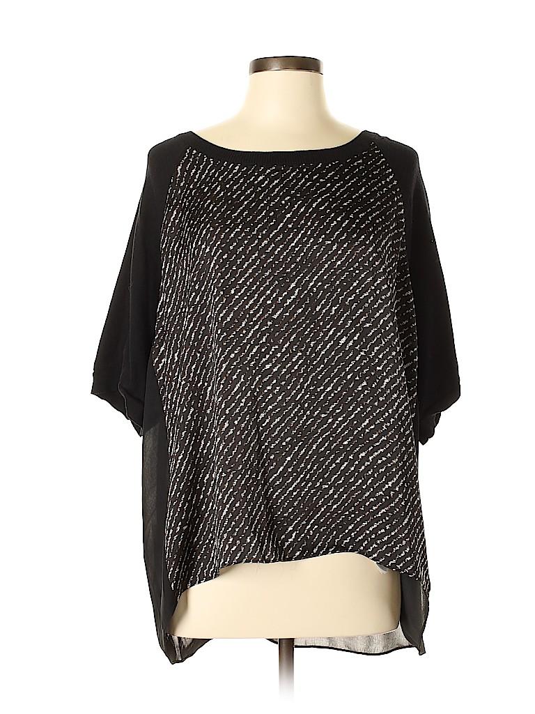 MICHAEL Michael Kors Women Short Sleeve Blouse Size L