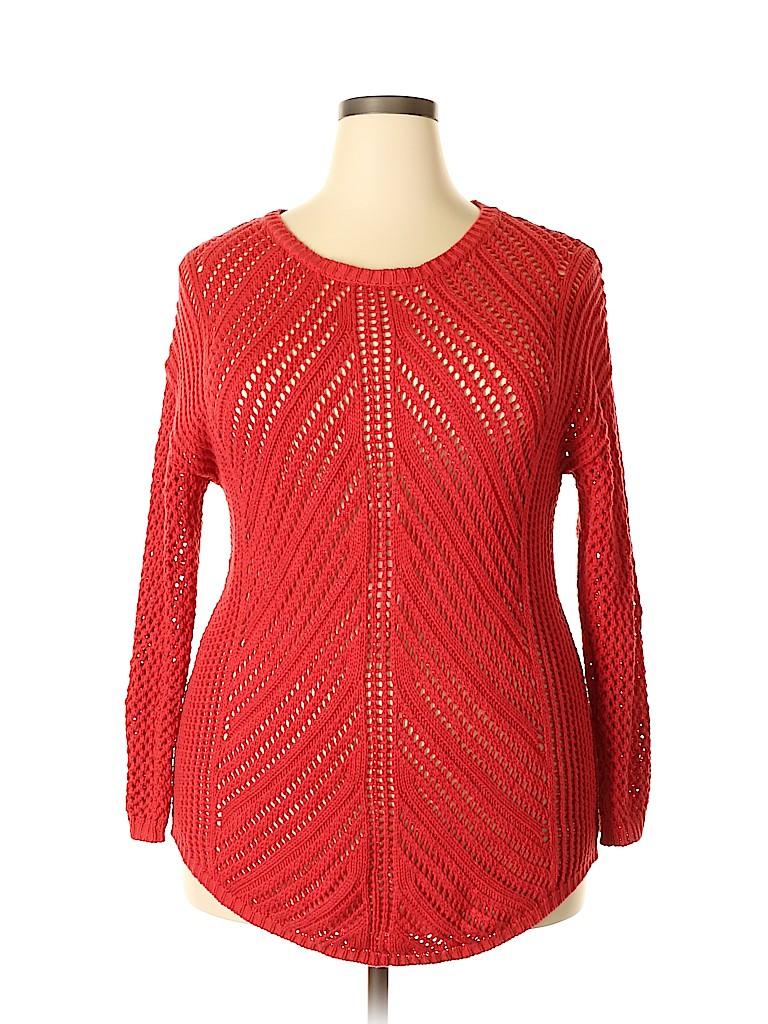 Chelsea & Theodore Women Pullover Sweater Size XXL