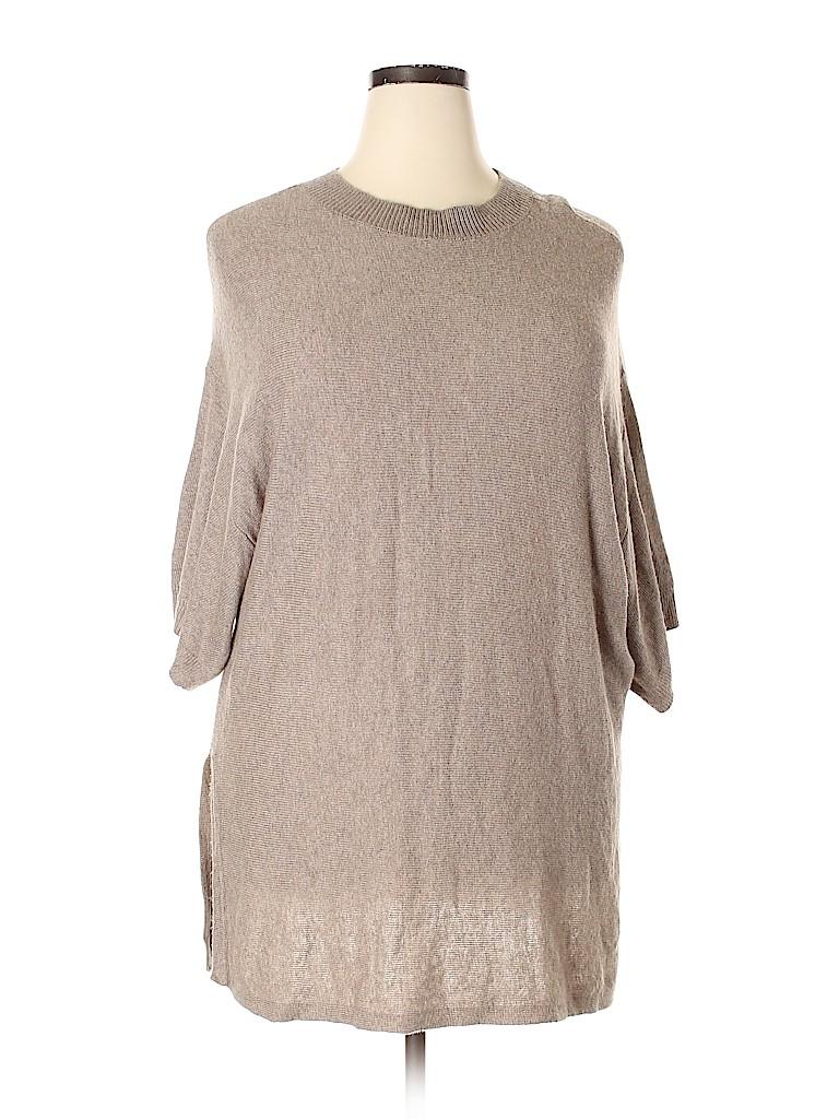 14th & Union Women Pullover Sweater Size 1X (Plus)