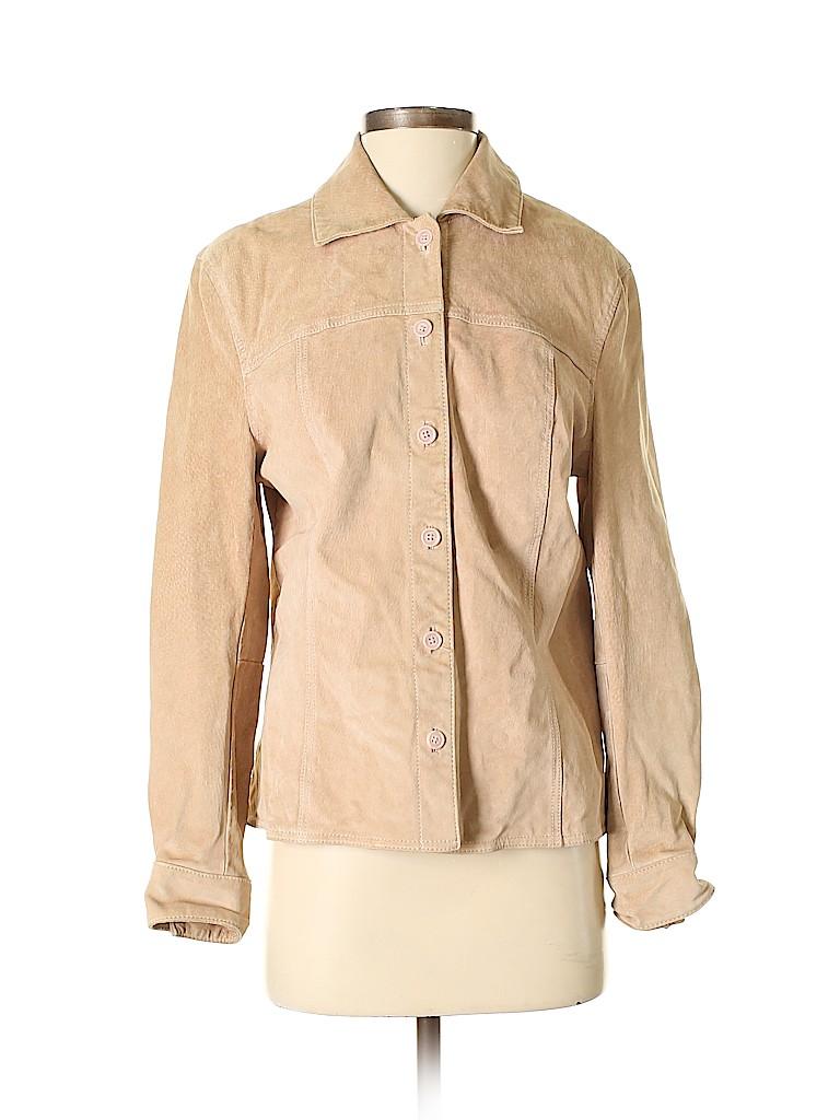 Cherokee Women Leather Jacket Size M