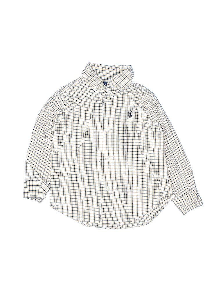 Ralph Lauren Boys Long Sleeve Button-Down Shirt Size 2T