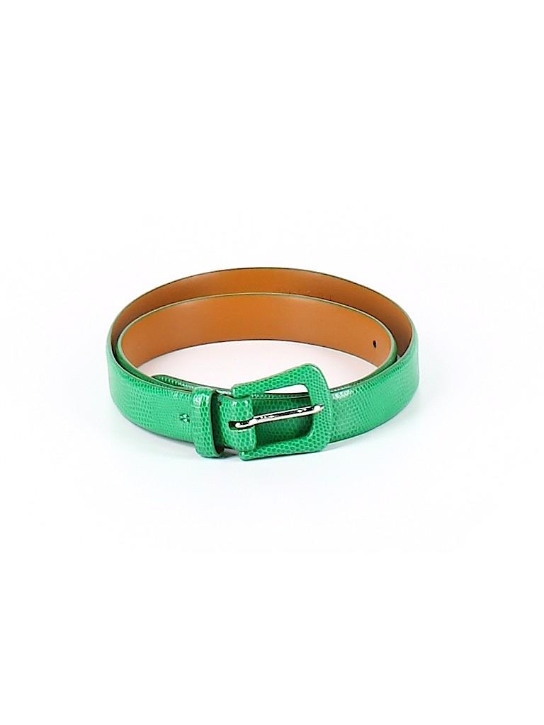 Lauren by Ralph Lauren Women Leather Belt Size M