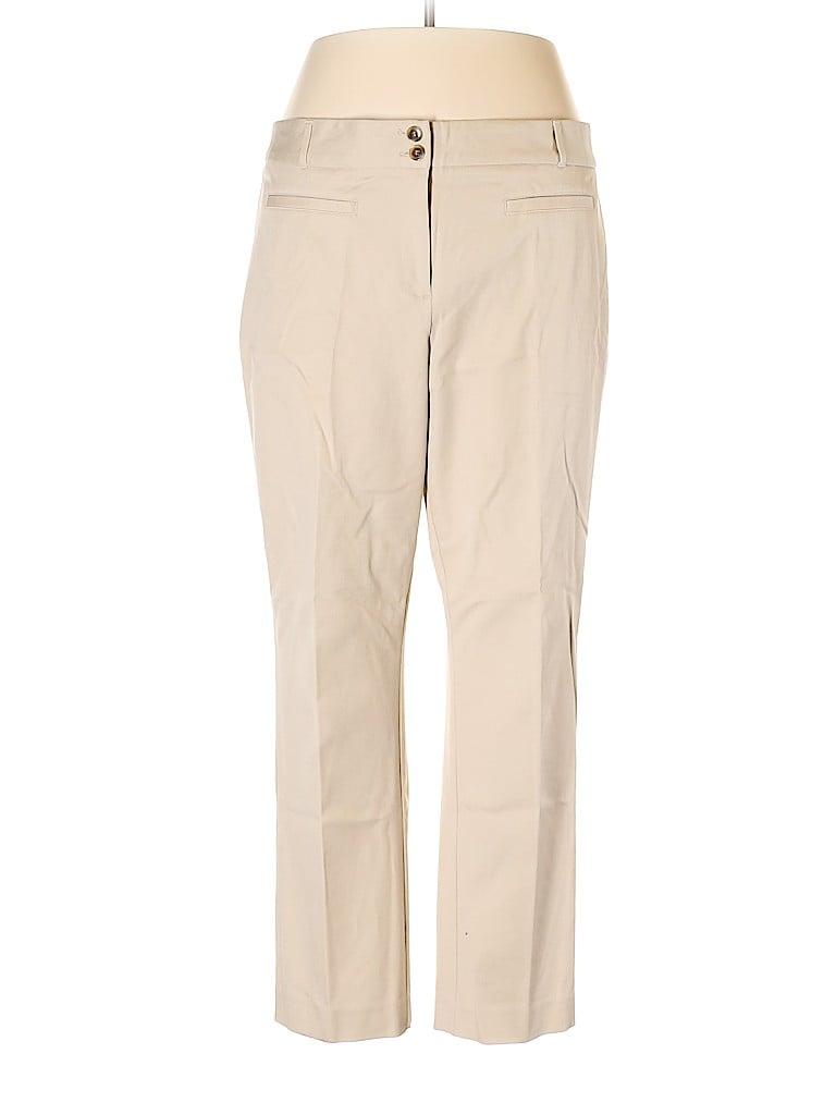 Charter Club Women Khakis Size 16