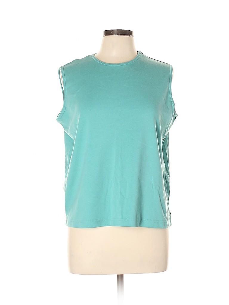 Blair Women Sleeveless T-Shirt Size L