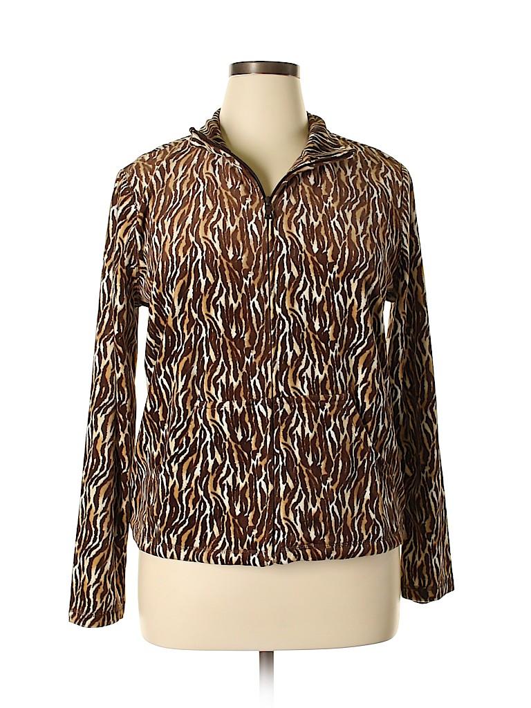 Kim Rogers Women Cardigan Size L