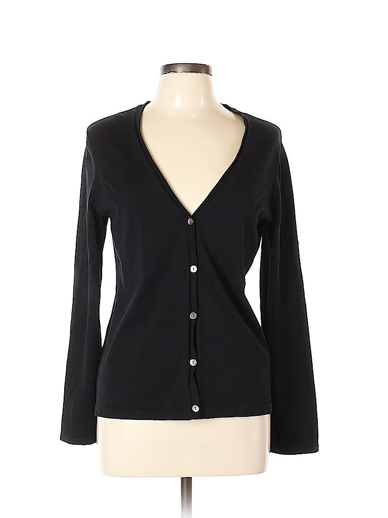Jones New York Women Silk Cardigan Size L