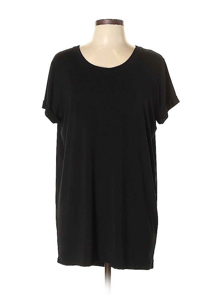 Fervour Women Short Sleeve T-Shirt Size L