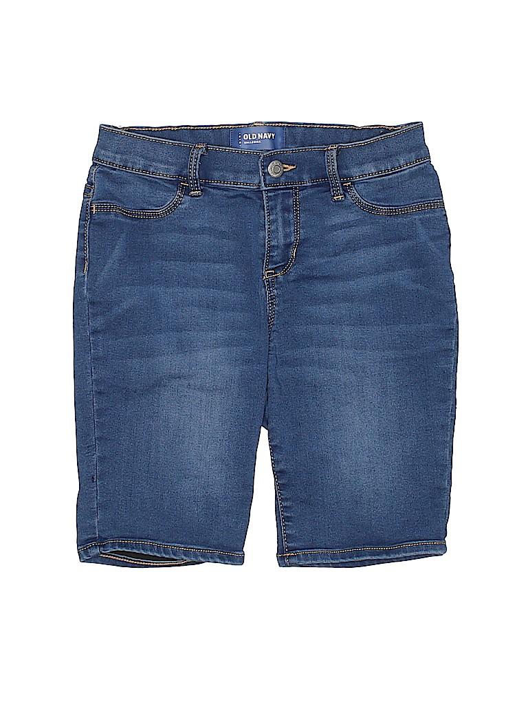 Old Navy Girls Denim Shorts Size 14