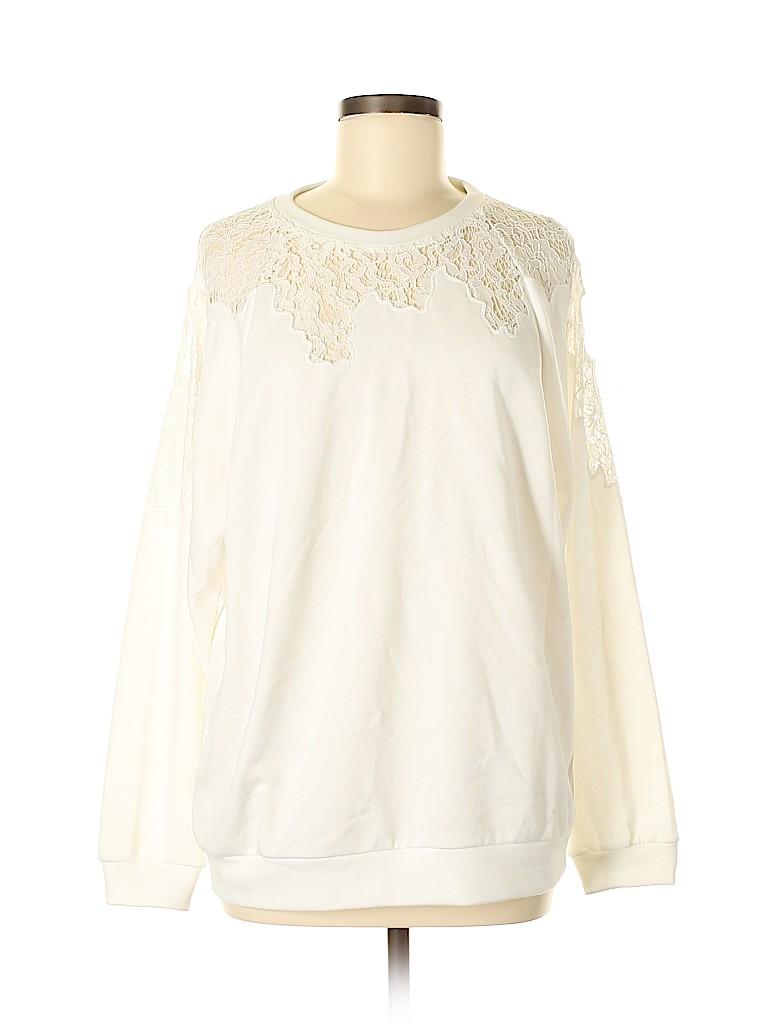 Lush Women Sweatshirt Size M