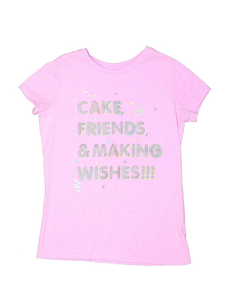 Cat & Jack Girls Short Sleeve T-Shirt Size 12