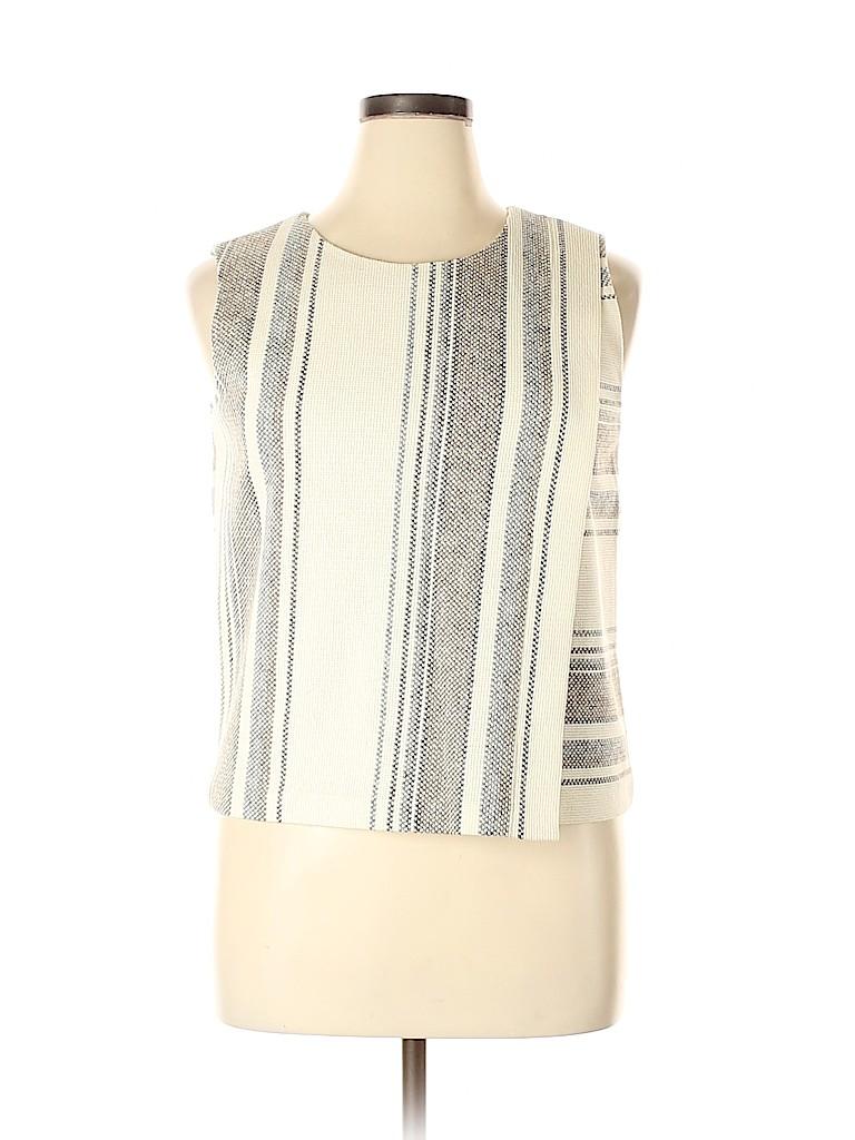 Tory Burch Women Sleeveless Blouse Size XL