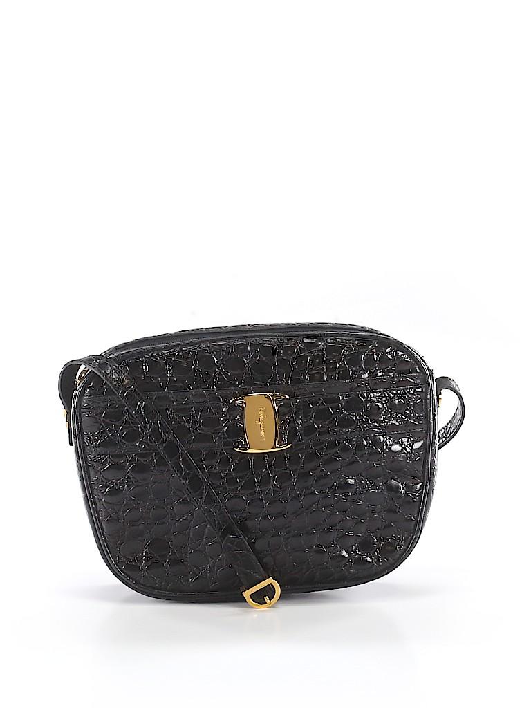 Salvatore Ferragamo Women Leather Crossbody Bag One Size
