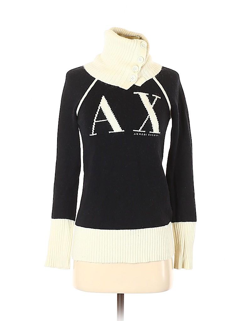 Armani Exchange Women Turtleneck Sweater Size S