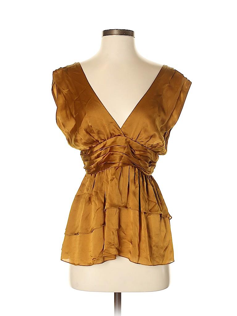 Tocca Women Sleeveless Silk Top Size 4
