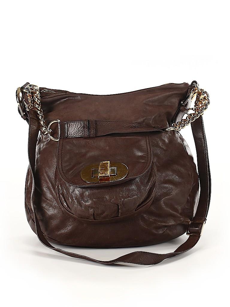 Badgley Mischka Women Leather Satchel One Size