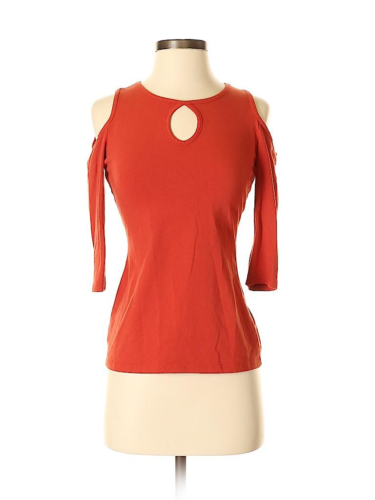 Boston Proper Women 3/4 Sleeve Top Size XS