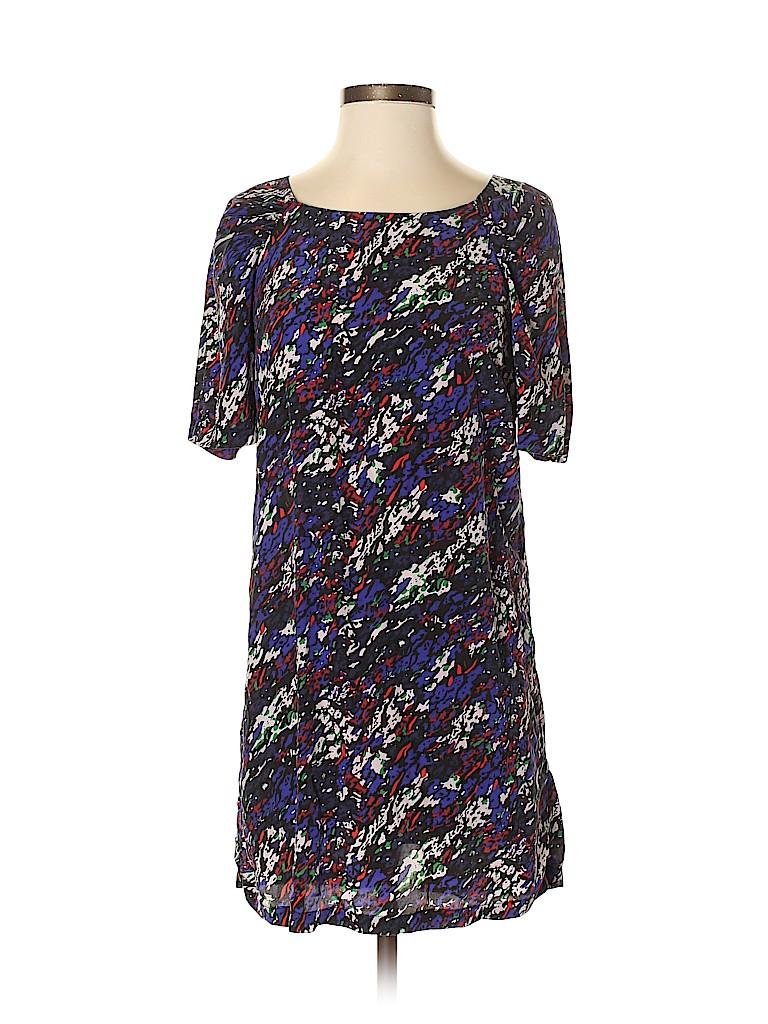 Maje Women Short Sleeve Silk Top Size S