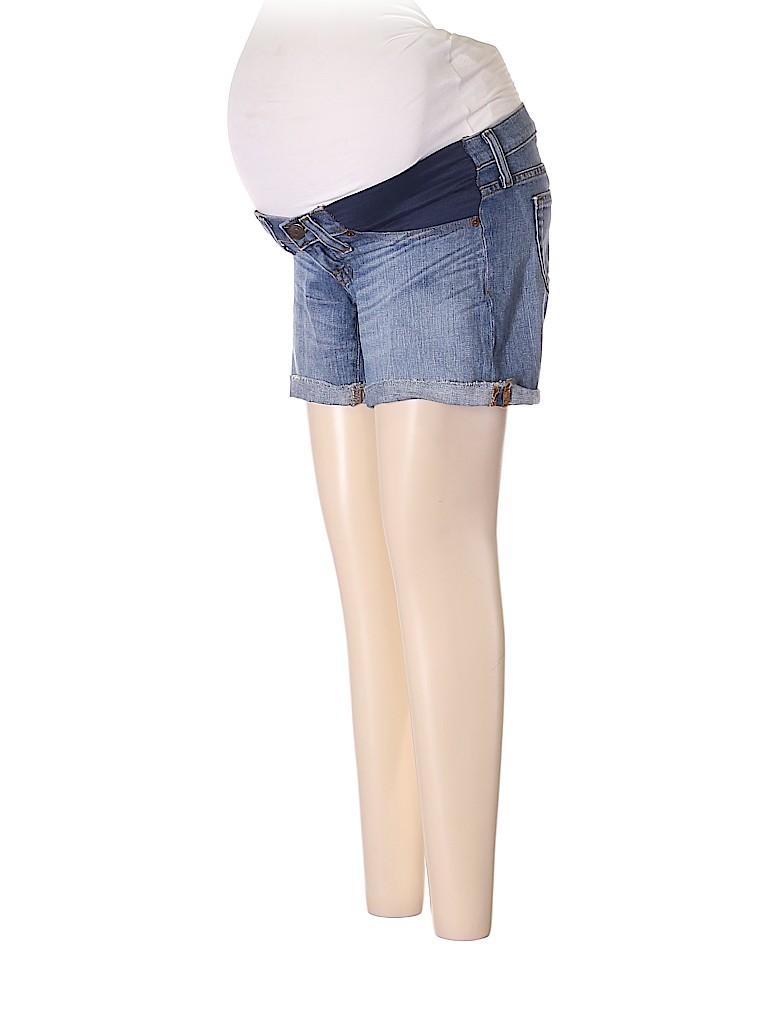 J. Crew Women Denim Shorts 26 Waist (Maternity)