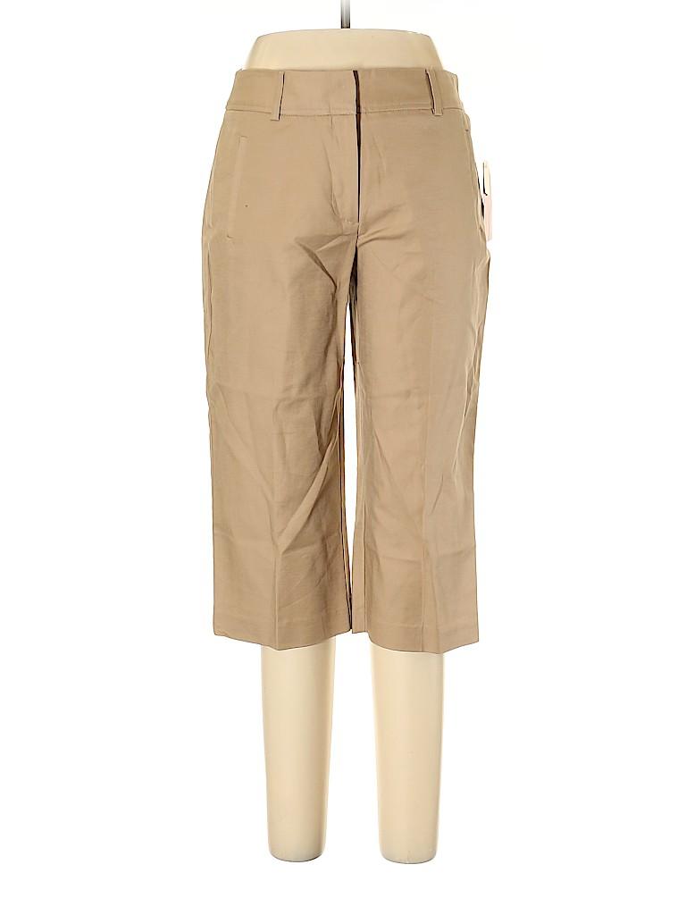 Kim Rogers Women Khakis Size 10 (Petite)